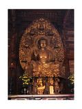 Statue of the Yakushi Nyorai or Buddha of Medicine and Healing