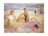 Three Women on the Beach