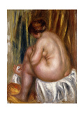 After the Bath (Nude Study)