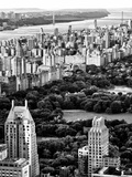 Uptown Manhattan and Central Park from the Viewing Deck of Rockefeller Center, New York