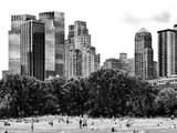 Landscape, a Summer in Central Park, Lifestyle, Manhattan, NYC, Black and White Photography