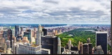 View over Central Park, Manhattan, New York City, New York, USA