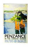 Penzance in the Cornish Riviera, c.1935