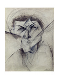 Study for Empty and Full Abstracts of a Head, 1912
