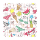 Cute Summer Abstract Pattern