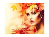 Autumn Woman Portrait
