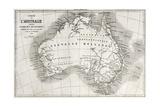 Australia Old Map