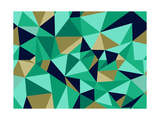 Trendy Abstract Geometric Pattern