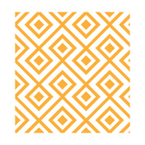 Lozenge Shaped Geometric Pattern