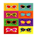 Collection Of Pop Art Sunglasses