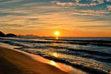 Beautiful Sunrise In The Beach