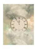 Old Sepia Clock