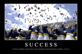 Success: Inspirational Quote and Motivational Poster