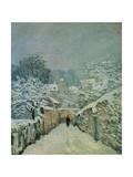 Snow in Louveciennes, 1878