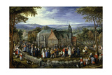 Country Wedding, 1621-1623
