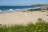 From the Cliffs at Gwithian Looking Towards Godrevy Lighthouse