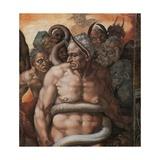 Sistine Chapel, the Last Judgment. Minos, Judge of Hell