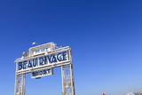 Beau Rivage Beach Sign