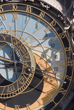 Town Hall Clock (Astronomical Clock), Old Town Square, Old Town, Prague, Czech Republic, Europe
