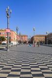 Place Massena, Nice, Alpes-Maritimes, Provence, Cote D'Azur, French Riviera, France, Europe