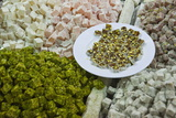 Traditional Turkish Delight for Sale, Spice Bazaar, Istanbul, Turkey, Western Asia