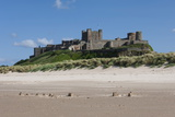 Bamburgh Castle, Bamburgh, Northumberland, England, United Kingdom, Europe