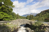 Ashness Bridge, Lake District National Park, Cumbria, England, United Kingdom, Europe