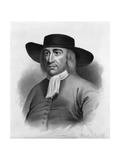 Print after Portrait of George Fox