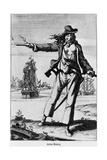 Illustration of Ann Bonney the Pirate