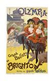 "Olympia - Grand Ballet: """"Brighton"""" Poster Advertisement"