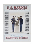 U.S. Marines Recruiting Poster