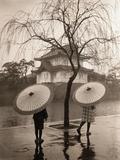 Women Carrying Japanese Umbrellas