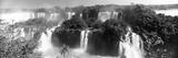 Floodwaters at Iguacu Falls, Brazil