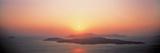 Sunset Santorini Island Greece