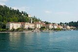 Buildings in a Town at the Waterfront, Bellagio, Lake Como, Lombardy, Italy