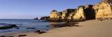 Rock Formations on the Coast, Algarve, Lagos, Portugal
