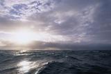 Sun Breaking Through Clouds