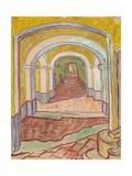 Corridor in the Asylum (St. Remy)