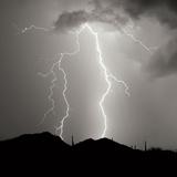 Summer Lightning I BW