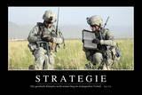 Strategie: Motivationsposter Mit Inspirierendem Zitat
