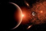 Alien Sunrise on a Distant Alien World