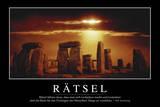 Ratsel: Motivationsposter Mit Inspirierendem Zitat