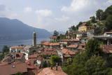 Village Overlooking Lake Garda, Italian Lakes, Lombardy, Italy, Europe