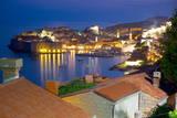 Old Town, UNESCO World Heritage Site, at Dusk, Dubrovnik, Dalmatia, Croatia, Europe