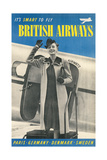 British Airways Travel Poster