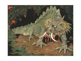 Frightened Dragon