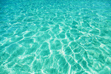 Green Water Background, Elafonisi Beach, Crete, Greece