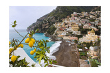 Positano Spring Scenic Vista, Amalfi Coast, Italy