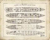 Titanic Blueprint Vintage II