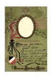 Prage Passepartout Augusta Viktoria, Wilhelm 2, Krone